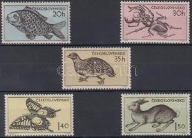 1955 Állat sor Mi 925-929