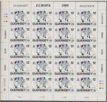 1989 Europa CEPT Gyerekjátékok kisív sor Mi 449-451