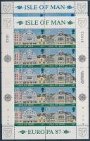 1987 Europa CEPT Modern építészet kisív sor Mi 355-338