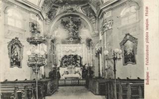 Budapest I. Felsővízivárosi plébániatemplom, főoltár