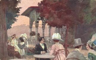 Montecatini Terme, Bagni di Montecatini, Interno Stabilimento Tamerici s: Guerzoni