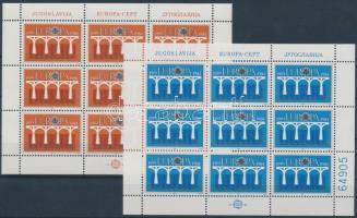 1984 Europa CEPT Konferencia kisív sor Mi 2046-2047