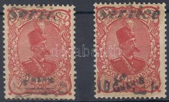 1902 Hivatalos Mi 1-2