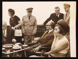cca 1975 Reza Pahlavi iráni sah fotó / Iranian Shah 12x10 cm