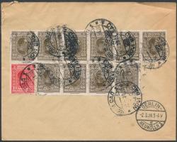 ;Levél / Postázott, Ajánlott levél Berlinbe