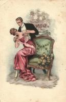Romantic couple, Romantikus pár