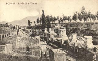 Pompei, Strada delle Tombe