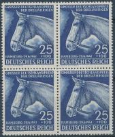 1941 Lóverseny: Német Derby négyestömb Mi 779