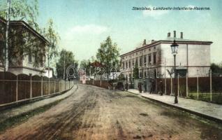 Ivano-Frankivsk, Stanislau, Stanislawow; Landwehr Infanterie Kaserne / military barracks