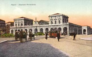 Naples, Napoli, Stazione Ferroviaria / railway station
