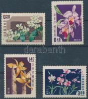 1958 Virág, Orchidea sor Mi 288-291