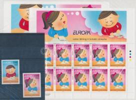 Europa CEPT the letter set + minisheet set, Europa CEPT a levél sor + kisívsor