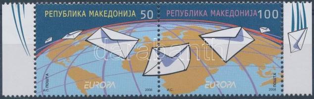 2008 Europa CEPT ívszéli pár Mi 458-459