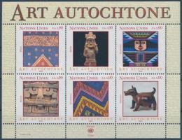 Indigenous art block, Bennszülött művészet blokk