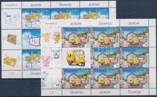 2008 Europa CEPT a levél kisívsor Mi 682-683