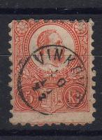 1871 Réznyomat 5kr / Mi. 10a VINKOVCE (E 3.17)