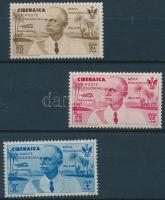 1934 Légiposta 3 érték Mi 128-129 + 132