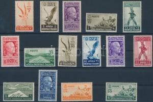 1938 Mi 1-14 + 20