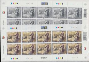 2008 Europa CEPT a levél kisívsor Mi 1567-1568