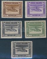 1932 Mi 171C-174C + 173A