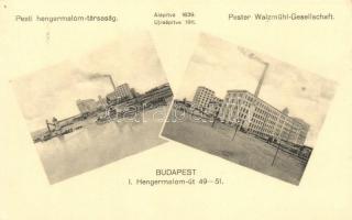 Budapest XI. Pesti hengermalom-társaság, Klösz György és fia