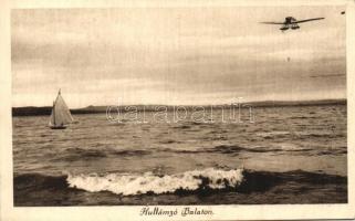 sailboat, Balaton, 'Hullámzó Balaton', vitorlás