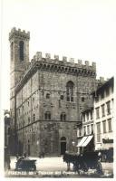 Firenze, Florence; Palazzo del Podesta
