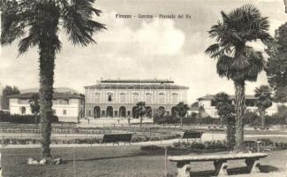 Firenze, Florence; Cascine, Piazza del Re / square