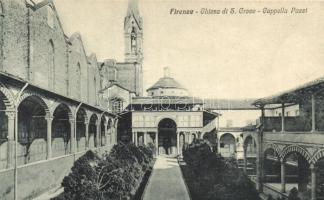 Firenze, Florence; Chiesa di S. Groce, Ceppella Pazzi / church, chapel