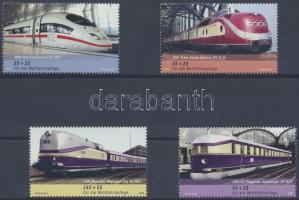 2006 Német vasút sor Mi 2560-2563