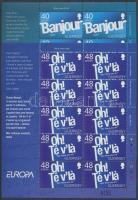 2008 Europa CEPT a levél 2 kisív Mi 1186-1187