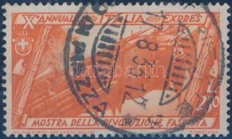 1932 Menetelés Rómába Mi 434