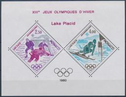 1980 Téli olimpia Mi 1419-1420 blokk formában