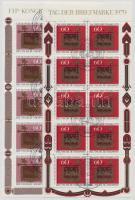 1979-1980 Bélyegnap és FIP kisív