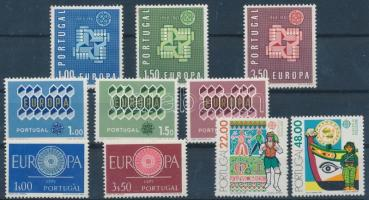 Portugal, Europa CEPT 4 diff. sets, Portugália, Europa CEPT 4 klf sor
