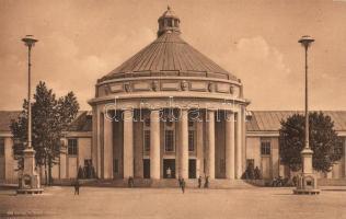 1911 Dresden, Intern. Hygiene-Ausstellung, Festplatz, Halle Der Mensch / exhibition, square, hall