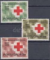 Centenary of Portuguese Red Cross set, 100 éves a portugál Vöröskereszt sor