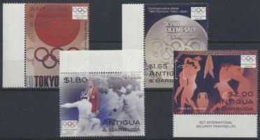2004 Olimpia Athén ívszéli sor Mi 4097-4100