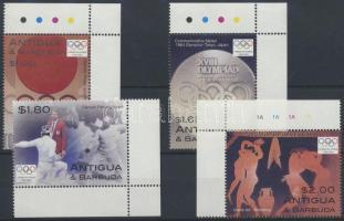 2004 Olimpia Athén ívsarki sor Mi 4097-4100