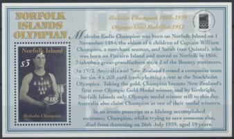 2000 Bélyegkiállítás, Olimpiai bajnok blokk Mi 36