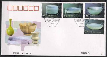 Chinese porcelains set FDC, Kínai porcelán sor FDC, Chinesisch Porzellan Satz FDC