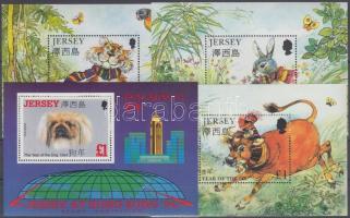 1994/1999 Kínai újév 4 blokk Mi 8 + 14 + 17 + 21