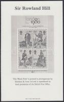 1980 Rowland Hill Feketenyomat