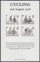 1978 Kerékpár feketenyomat