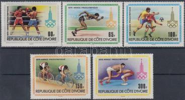 1979 Nyári olimpia, Moszkva sor Mi 614-618