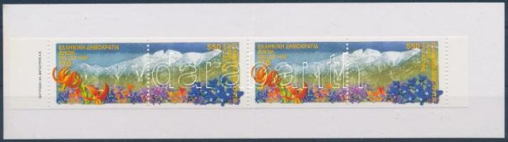 Europa CEPT nature reserves and national parks stampbooklet, Europa CEPT természetvédelmi és nemzeti parkok bélyegfüzet