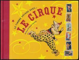 Red Cross: circus stamp-book, Vöröskereszt: cirkusz bélyegkönyv