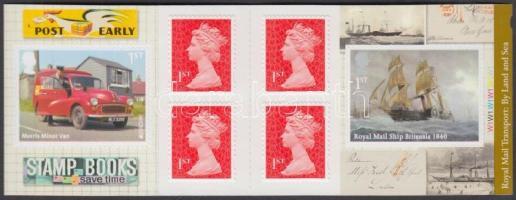 2013 Europa CEPT Postai járművek öntapadós bélyegfüzet Mi MH 0-354