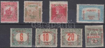 Szeged 8 klf bélyeg Bodor vizsgálójellel (28.700)
