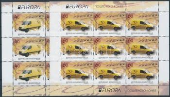 2013 Europa CEPT Postai járművek kisívpár Mi 656-657